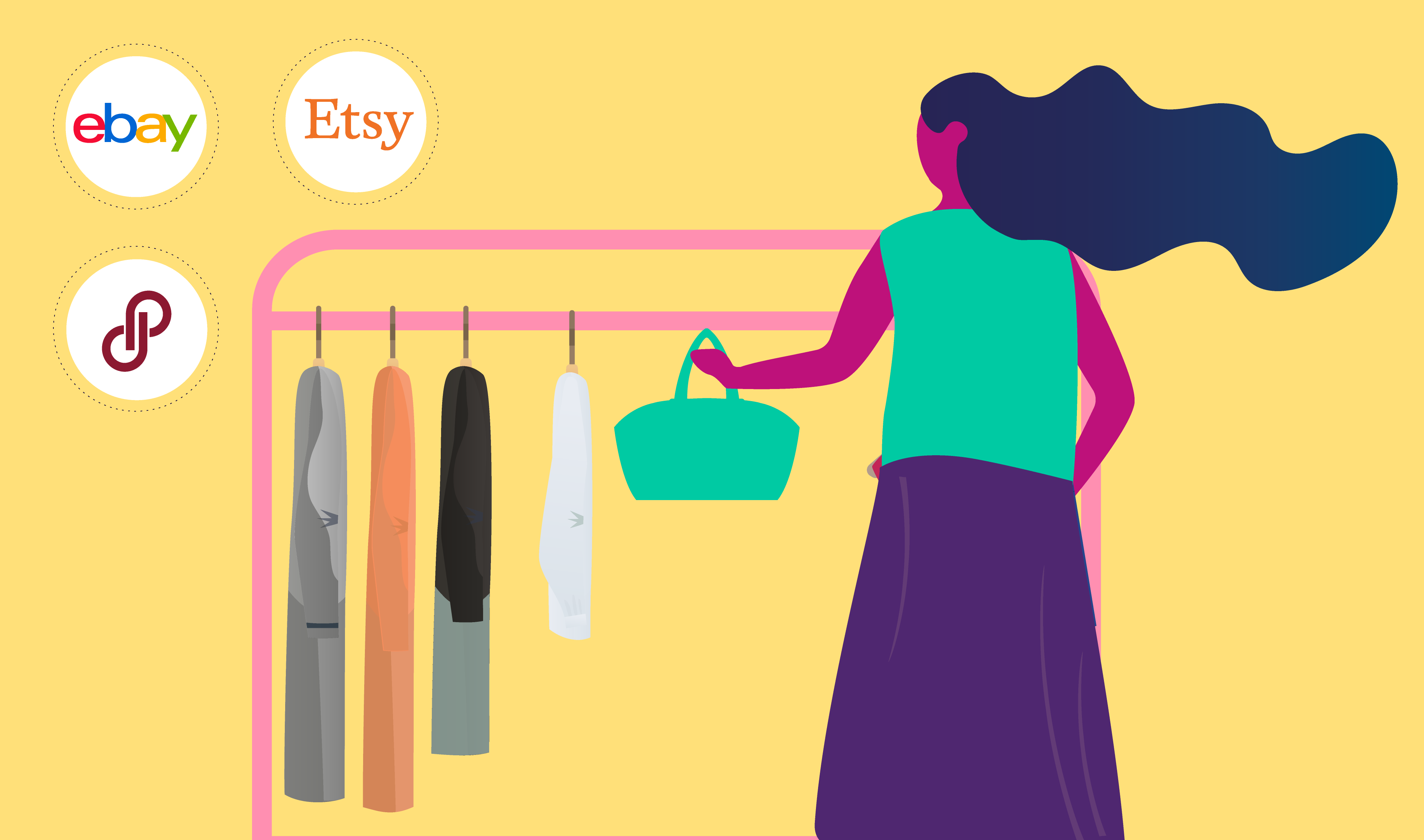 How to Thrift for Profit to Sell on Ebay, Poshmark and Etsy